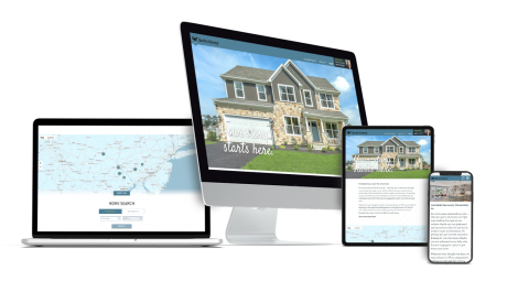 Home Builder Websites for Berks Homes
