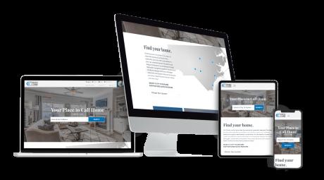 Home Builder Websites for Caviness & Cates