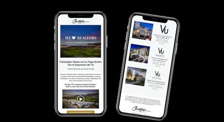 Home Builder Websites for Christopher Homes