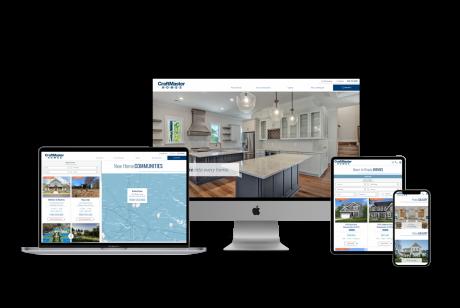 Home Builder Websites for Craftmaster Homes