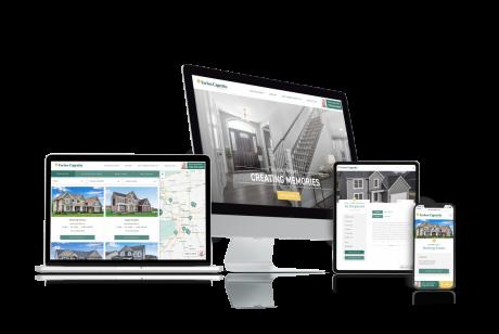 Home Builder Websites for Forbes Capretto