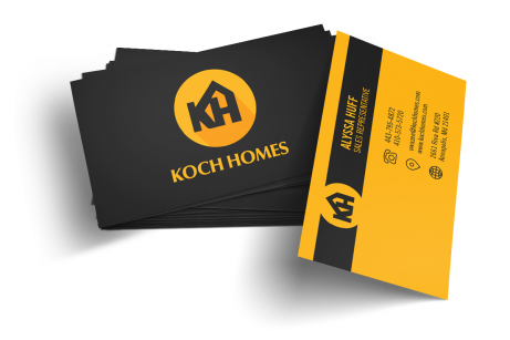 Home Builder Websites for Koch Homes