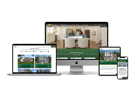 Home Builder Websites for Mitchell Homes