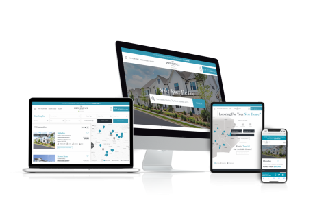 Home Builder Websites for The Providence Group