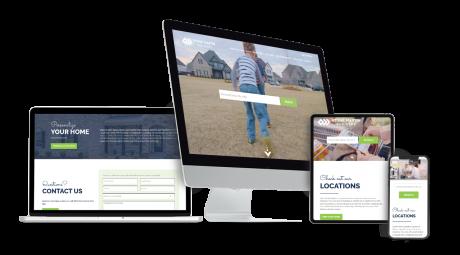 Home Builder Websites for Stone Martin Builders