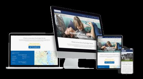 Home Builder Websites for Sturbridge Homes