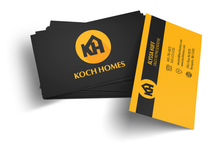 Home Builder Website Design for Koch Homes