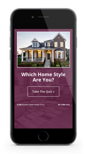 Home Builder Website Design for M/I Homes