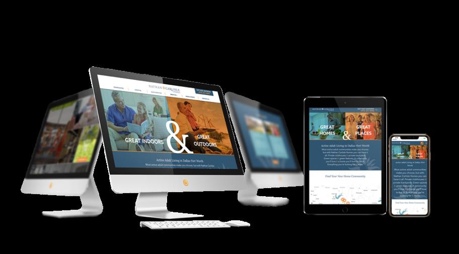 Home Builder Website Design for Nathan Carlisle
