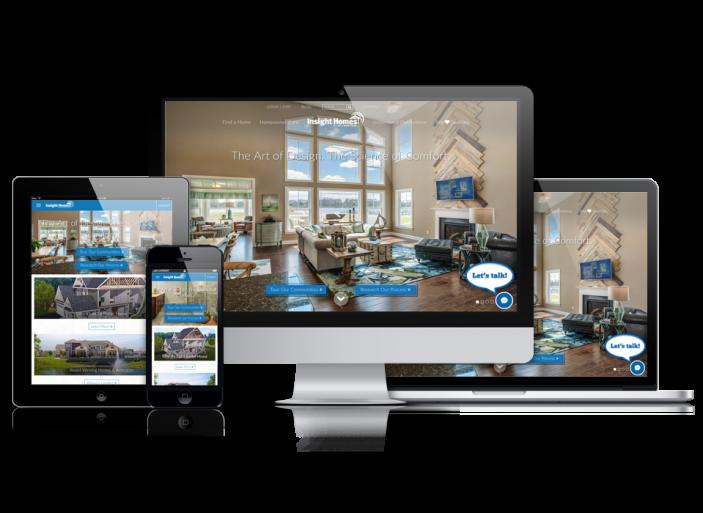 Home Builder Website Design for Insight Homes