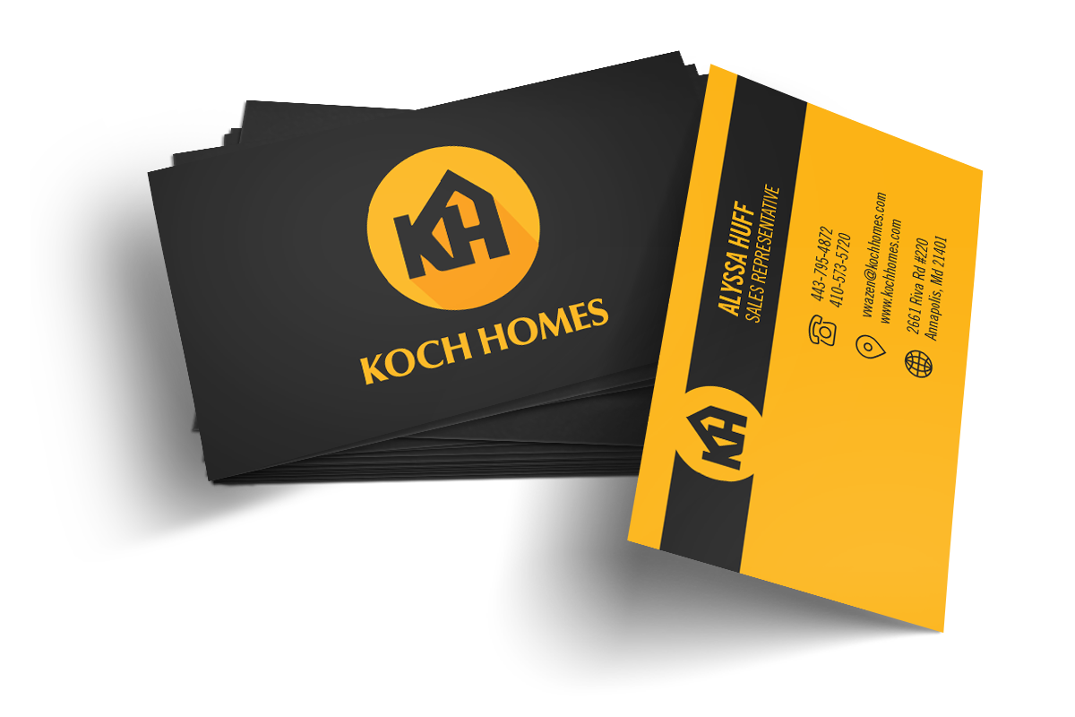 Home Builder Website Design for Koch Homes