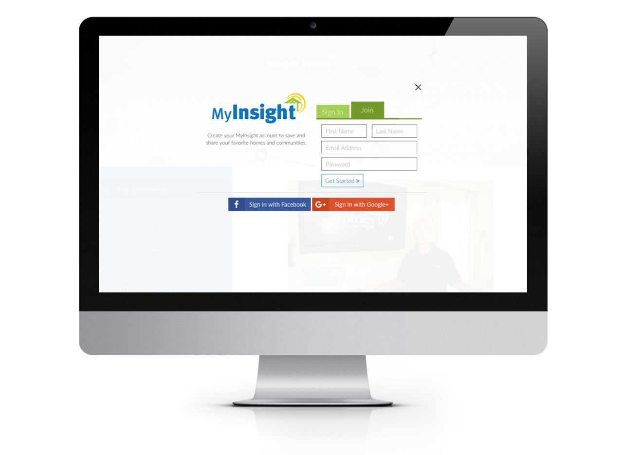 Insight Homes Website Design