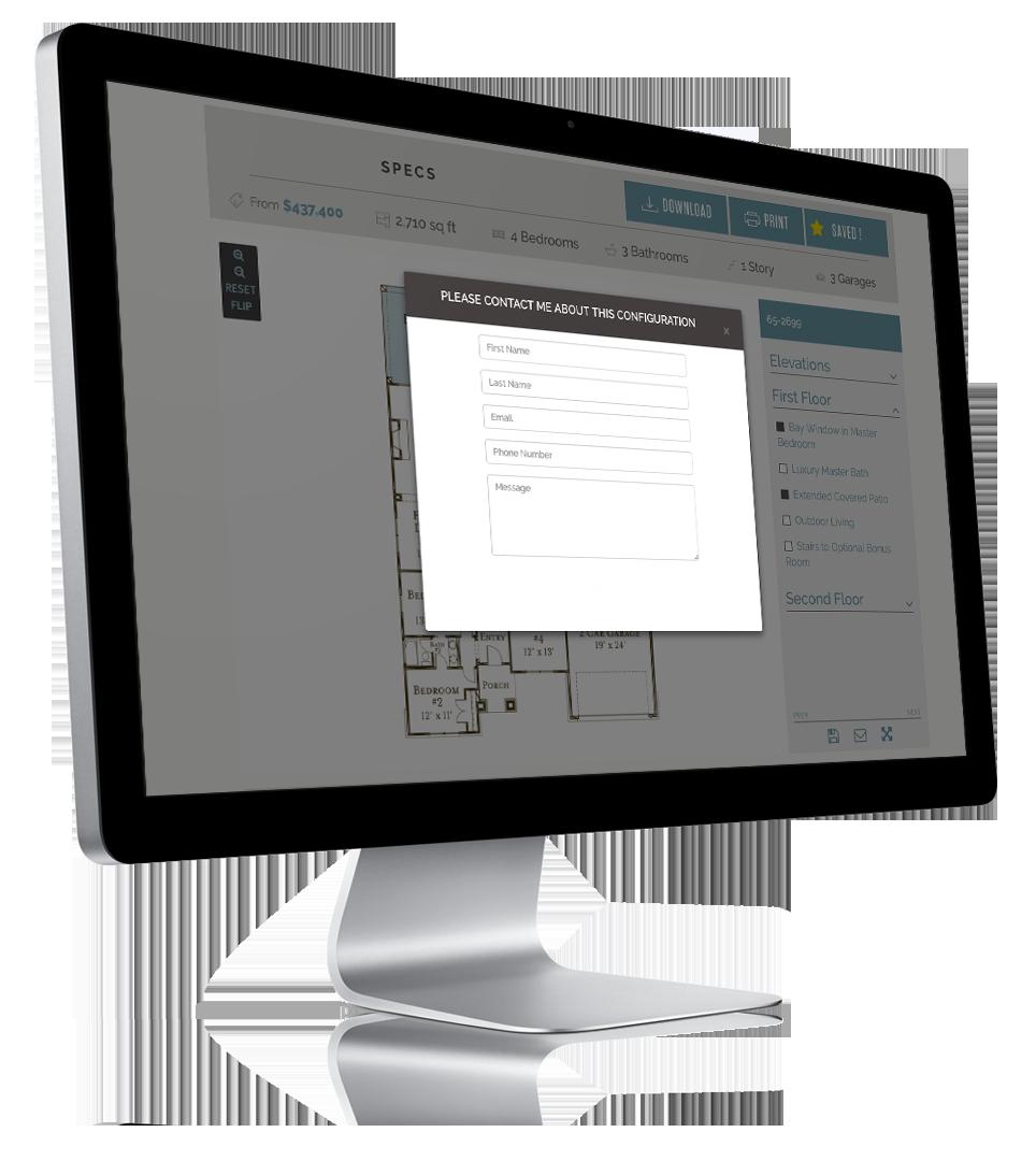 Lead Generating Interactive Floorplans for Home Builders