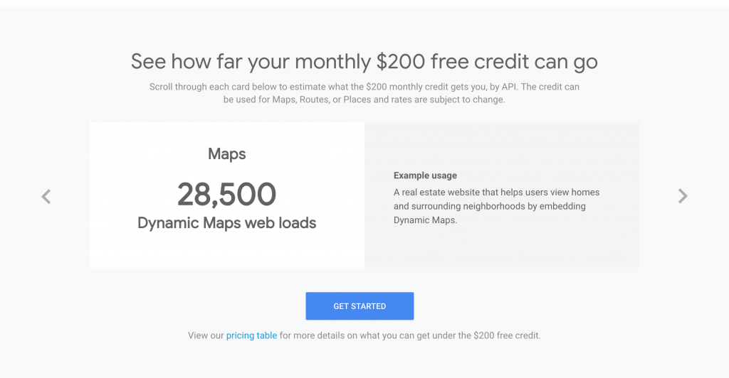 Home Builder Google Maps Fees
