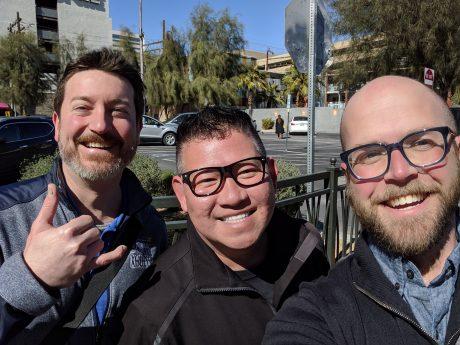 Ryo Zsun takes Adam & Dennis on the Zappos HQ Tour