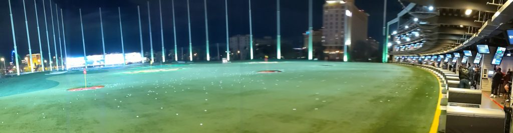 ONeil Party at Top Golf Las Vegas