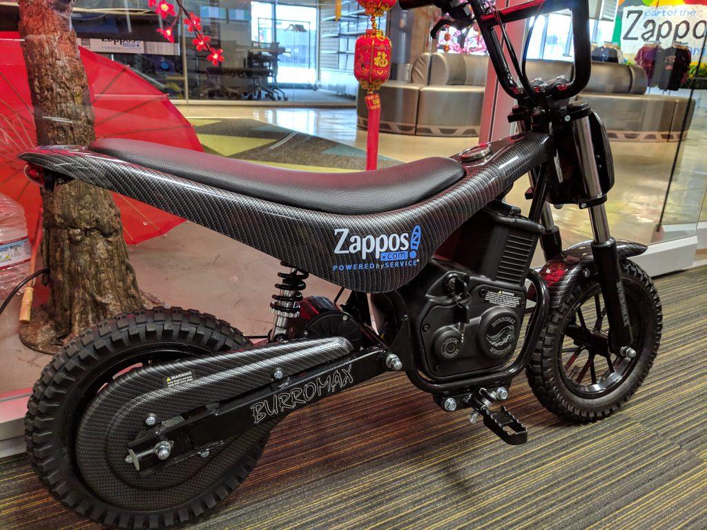 Zappos Mini-Motorcycle