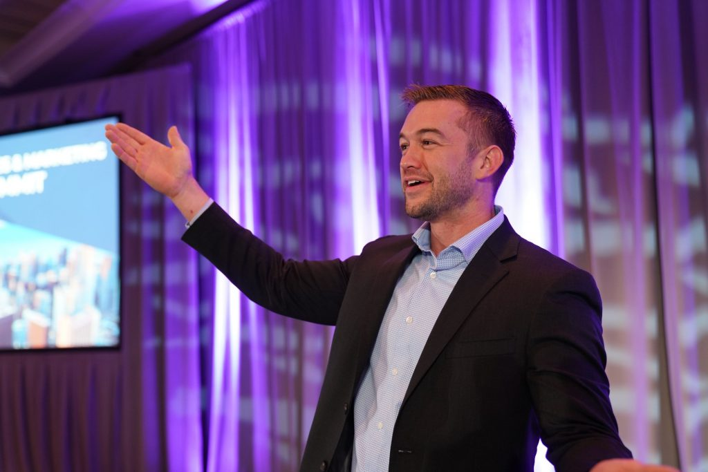 Andrew Peek at DYC Summit 2019