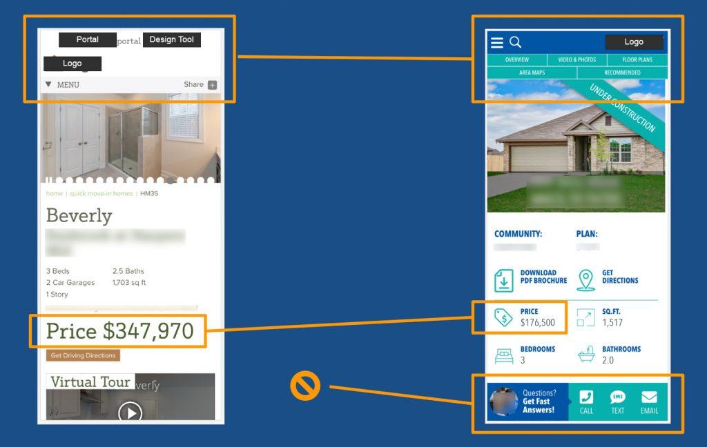 Mobile - How A Home Builder Designs a Website
