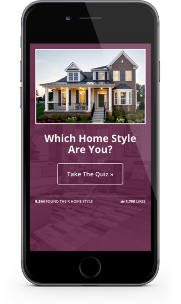 Lead generating quiz for Home Builders